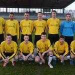 Photo-collector : l'équipe première en jaune contre Annecy