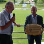Un hommage mérité pour Christian après 13 années à la tête du club.