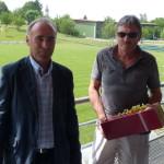 Christian Guichardan a été remercié pour son dévouement discret à la cause du club pendant de très nombreuses années.