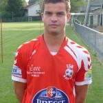 Benoît Megevand, ex FCBP, vient du FC Bressans.