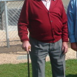 Fernand Piguet, ici lors des 40 ans du club.
