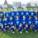 L'équipe 2 U15 (Entente Marboz-FC Bressans) est désormais équipée par CARREFOUR Bourg-en-Bresse.