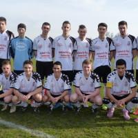 L'équipe U18 s'est inclinée samedi après-midi.