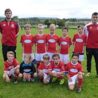 L'équipe U11 3ème niveau est coachée par Florian et Jimmy.