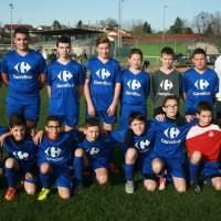 L'équipe U15(2) joue en Entente avec PRF.