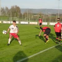 Le capitaine Adrien Névoret en action