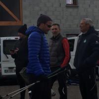 Les officiels enregistrent l'arrivée de cap'taine Loïc épuisé.