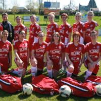 L'équipe féminine qui a joué ce dimanche