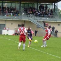 Jimmy Mainfroi entre Loïc  et Arnaud.