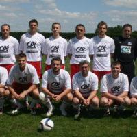 L'équipe 4 qui a été battue en 1/2 finale de la Coupe.
