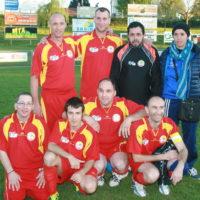 L'équipe de sport adapté de Bourg
