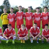 L'équipe U17 qui a joué ce samedi était privée de plusieurs éléments.