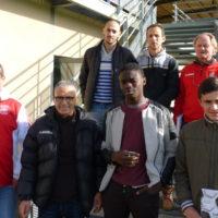 Arbitres et encadrants du club (absent Mathieu Darbon)