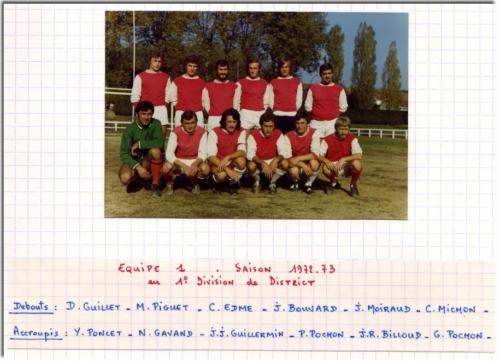 Equipe une (72-73)